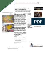 Uma ideia para Lisboa Publico  (PT)