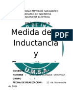 Inductancia y Capacitancia