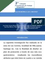 PROYECTO RUTA GASTRONOMICA LOS CORCHOS