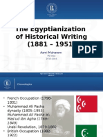 TheEgyptianization of Historical Writing (1881 – 1951)