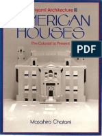 Chatani, M - American houses