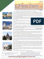 Italia y Tierra Santa   Canterbury Pilgrimages