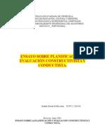 Planificacion Conductista y Constructivista