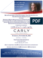 Reception for Carly Fiorina