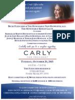 Reception for Carly Fiorina