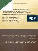 Farmacos Que Actuan Sobre El Sistema Nervioso Autonomo