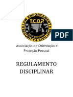 Regulamento Disciplinar TCOP
