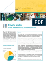 Private sector in the Mediterranean partner countries