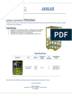 Brochure Jaulas Isem Ltda