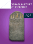 Ancient Israel in Egypt and the Exodus