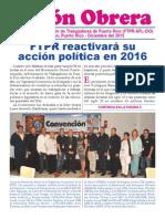 Unión Obrera Diciembre 2015