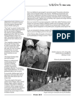 "Yukon Conservation Society, Winter 2015 Newsletter ""Back to Nature"""