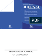 Uganda Journal of Management