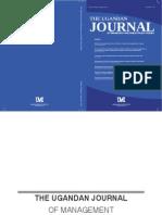 Uganda Journal of Management