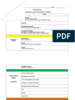 charles sedberrys lesson plan template