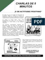 Desarrollo de Actitudes Positivas