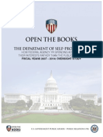 OpenTheBooks Oversight Report - The Department of Self-Promotion