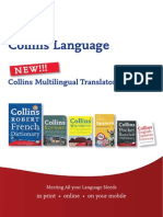 Collins Language Multilingual Translator