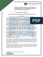 Ro#639 - 1-12-2015 - Reforma Resolución Nac-dgercgc12-00101 Anexo Rtof