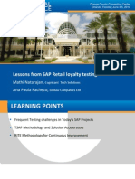 2511 Lessons From SAP Retail Loyalty Testing