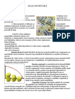 Masa Monetară Ormenisan Nicoleta Xic