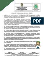 Derechos y Deberes Colombia Putumayo