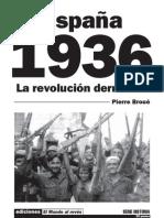 España 1936 - La revolución derrotada (1961) Pierre Broue