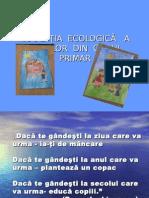 Educ.ecologica a elevilor din ciclul primar