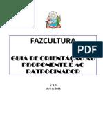 Guia FazCultura 2015