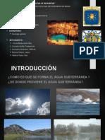 Diapositivas Accion Geologica Aguas Subterraneas