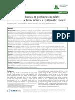 journal synbiotics probiotics prebiotics