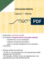 Economia abierta MANKIW