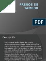 Frenos de Tambor