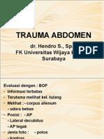 3. Trauma Abdomen