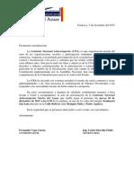 COMISION ANTICORRUPCION - INVITACION -