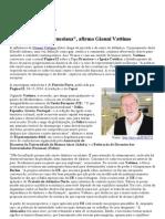 """a Única Saída é Keynesiana"", Afirma Gianni Vattimo"