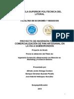 Proyecto Final Pan Artesanal