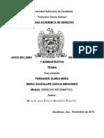 investigación juicio en línea Mexico