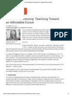 financial mentoring  teaching toward an affordable future   edutopia