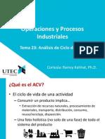 IN6004 - Tema 23 - Análisis de Ciclo de Vida de Producto V00