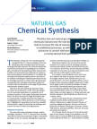 CEP 20150858 Natural Gas Chemical Synthesis