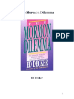 The Mormon Dilemma Master Word