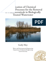 Application of Chemical Oxidation Processes for the Removal of Pharmaceuticals in Biologically Treated Wastewater-Gerly PhD Thesis With Cover Page