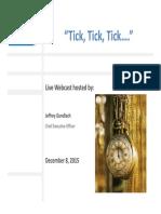 Gundlach 12-8-15 Total Return Webcast Slides