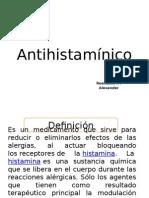 Antihistamínico