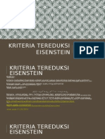 Kriteria Tereduksi Eisenstein
