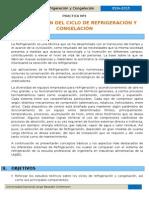 PRACTICA Nº1 Identificacion Del Ciclo de Refrigeracion y Congelacion