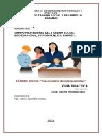 Guía Campo ProfesionAl Del T.S.