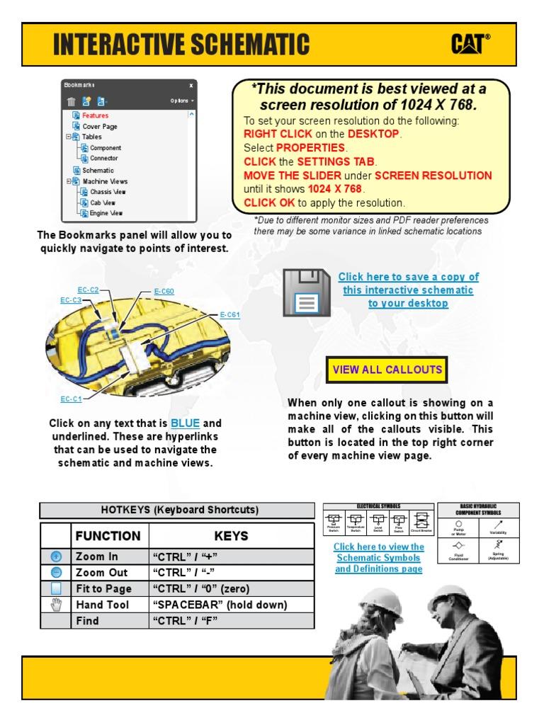 Esquema Eletrico Caterpillar 320d Electrical Connector Relay Case Excavator Wiring Diagrams
