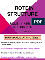protein structure powerpoint presentation   newest pink and purple